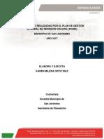 Informe PGIRS