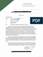 Mueller Lindsey Graham Memo