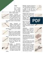 HERRAMIENTAS Y MAQUINARIA EN CONSTRUCCION