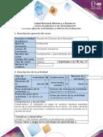 Guía de actividad y rúbrica de evaluación - Paso 1 - Participar en el foro no hay preguntas estúpidas