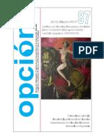 La democracia como derecho fundamental - Ideas sobre un modelo de democracia integral - Revista Opción - Jesús Caldera Ynfante, PhD