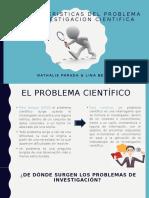 CARACTERISTICAS DEL PROBLEMA DE INVESTIGACION CIENTIFICA