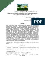 GESTÃO DA TECNOLOGIA DE INFORMAÇÃO NO SETOR PÚBLICO