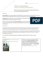 native invasives worksheet with answers