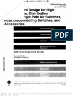 IEEE_C37.41_1994 Design for HV Fuses, distribution air switches, fuse disconnecting switches