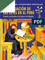 La evaluacion de las leyes en el Peru