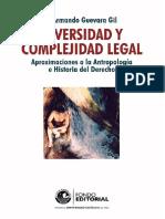 Diversidad y complejidad legal
