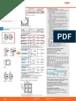 Lovato - LPX AU120, LPX C10 y LPX C01 - Accesorios pulsador doble.pdf