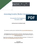 Assessing Creative Media's Social Impact(1)