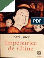 Pearl Buck - Imperatrice de Chine