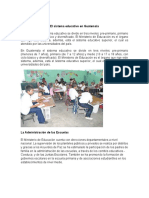 El sistema educativo en Guatemala