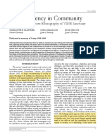 Animal Agency in Community. A Political Multispecies Ethnography of VINE Sanctuary