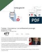 Tunisie - Coronavirus _ Le confinement prolongé jusqu'au 3 mai.pdf