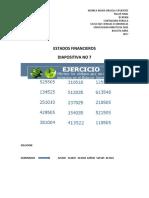 ESTADOS FINANCIEROS TALLER