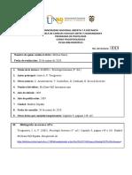 Ficha Bibliográfica Sueño - Milena Narea