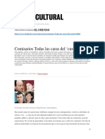 Paula Achiaga Revista El cultural Comisarios Todas las caras del curator