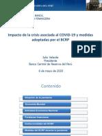 Impacto de la crisis asociada al COVID-19 y medidas adoptadas por el BCRP