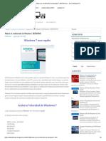Mejorar el rendimiento de Windows 7 DEFINITIVO _ Solo Utilidades PC