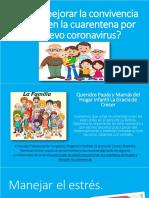 ¿Cómo mejorar la convivencia familiar en la cuarentena por el nuevo coronavirus_
