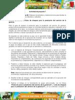 Evidencia 4 Formato Disenar Protocolos Y Listas de Chequeo Para Prestacion Servicios Guianza