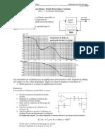 TD3 - Electronique  des systèmes - Oscillateurs Harmoniques