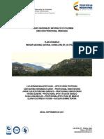 Plan de Manejo Ambiental, Cordillera de los Picachos