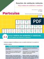 Q2.2.2. Força relativa de oxidantes e redutores