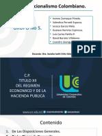 GRUPO No 5. RÉGIMEN ECONÓMICO Y HACIENDA PUBLICA