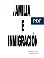 Familia e inmigracion
