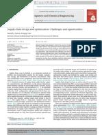 diseño y optimizacion de la cadena de sumistro 1