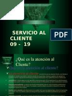 SERVICIO AL CLIENTE CLASE 4