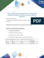 Anexo -1-Ejemplos para el desarrollo Tarea 3 - Clasificación de proposiciones categóricas y Métodos para probar validez de argumentos - copia
