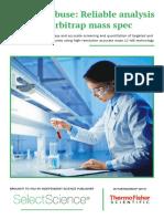 Ebook of Drugs Analysis Mass Spectroscopy