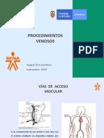 Vías de acceso vascular y Cateter Venoso Central