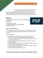 ENSAYO SOBRE ISO 9000