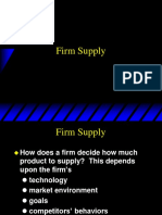 Topic 13 - Firm Supply