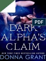 Dark alpha's claim (Reaper 1) - Donna Grant.pdf