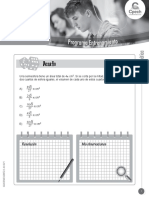 Matemática. Desafío. GUÍA DE EJERCITACIÓN AVANZADA Cuerpos geométricos GUICEN032MT22-A16V1