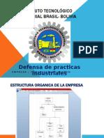 defence de practicas industriales