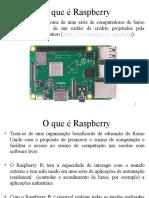 Aula-01 - O que é Raspberry - 2020