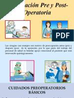 11. Prepraración Pre y Post-Operatoria