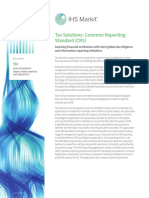 Common Reporting Standard (CRS) Factsheet
