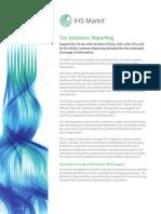 Tax Reporting Factsheet