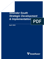 Sounder South Strategic Development and Implementation Plan