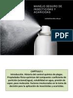 MANEJO Y USO SEGURO DE INSECTICIDAS Y ACARICIDAS