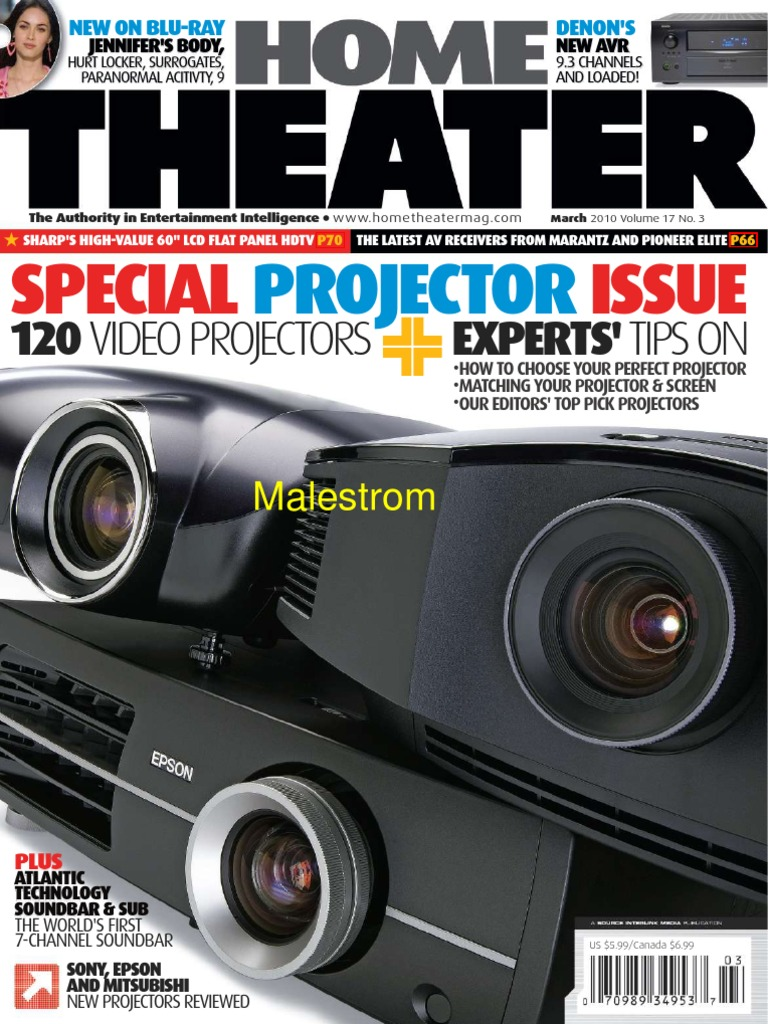 Home Theater March 2010 True Pdf Malestrom Hdmi Blu Ray Thx Audio Engine 8211 The Best Speaker Concept