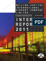 2011 Beijing Airport Interim Report