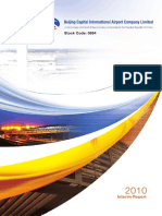 2010 Beijing Airport Interim Report