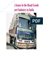 Competition Issues in Indian Road Transport