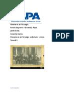 Historia de la Psicología tarea #5